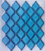 Mosaics Lantern Safi B04 Blue Umbra glossy