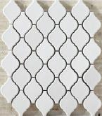 Mosaics Lantern Safi C10 White glossy